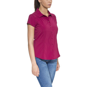 Royal Robbins Hydro Stretch SS Shirt Women Raspberry